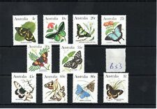 AUSTRALIA - B53 - 1981 - butterflies set  mint
