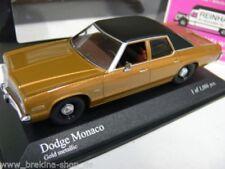 1/43 Minichamps Dodge Monaco 1974 goldmetallic