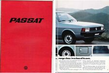 1978 VOLKSWAGEN PASSAT International Market Brochure - Restyled 1st Gen in Engli