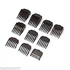 Wahl 10 pc Hair Clipper Guide Combs Set #3173-500  USA SELLER