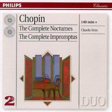 Chopin: The Complete Nocturnes & Impromptus (2CD's, 1997, Philips) VERY GOOD