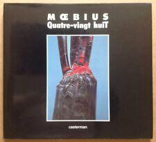 Belle Dédicace Moebius Quatre-Vingt huit 88 éo 1990 Art Book Jaquette Rare Album