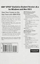 USED (GD) IBM SPSS Statistics Student Version 18.0 for Windows and Mac OS X - Va