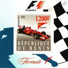 2015 FERRARI SF15-T Formula 1 F1 Grand Prix Racing Car Stamp