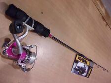 Frabill Freya 28 Inch Medium Light Spinning Ice Rod and Reel Combo