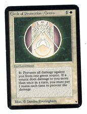 Circle of Protection: Green - ALPHA Edition - Old School - MTG Magic #16