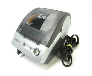 Brother P-touch QL-500 Label Printer Includes Power Cord Good Working Cond.!