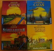 Die Siedler von Catan Konvolut (modellierte Spielfiguren)
