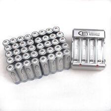 40 x AA NiMH Akku 1.2V 2500 mAh Wiederaufladbar Batterie+Ladegerät Für AA, AAA