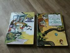 Calvin & Hobbes The Essential & The Indispensable 2 book bundle