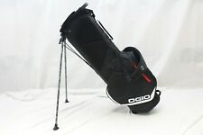 New Ogio Shadow Fuse 304 4-Way 2019 Stand Carry Golf Bag (Black)