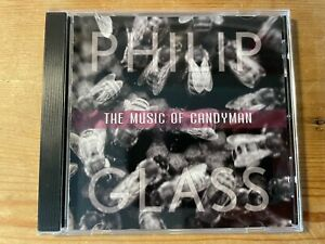 THE MUSIC OF CANDYMAN (Philip Glass) OOP 2001 Score Soundtrack OST CD EX