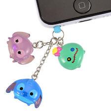 Official Disney Store Japan * Stitch Angel Scrump Tsum Tsum Plug Charm * Cute