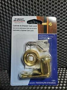 """First Watch 1281 1 1/8 """" Cabinet and Drawer Cam Lock"""