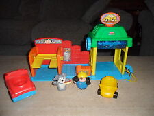 Fisher Price Little People Car Wash Spin N Sparkle Kids Children Toy