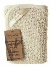 Hydrea London NATURALE ESFOLIANTE Fronte-retro della BAMBOO WASHCLOTH fbs30