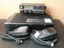 Motorola PM1200 lowband transceiver 120w 37-50mhz w/ control head & touch mic