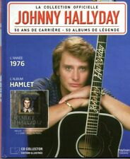JOHNNY HALLYDAY LA COLLECTION OFFICIELLE 1976 - HAMLET - 28 TITRES CD + LIVRET
