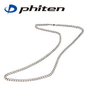 "PHITEN Golf Japan Titanium chain necklace 65cm 25.6"" 2021c"