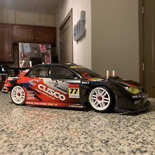 Custom 1/10 RC Subaru Drift Car AWD Tamiya Yeah Racing YR Carbon TRAXXAS Venom