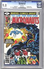 Micronauts 8 CGC Graded 9.8 NM/MT 1st Appearance of Captain Universe Marvel 1979