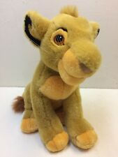 "VINTAGE 1994 Mattel 13"" Authentic Lion King Baby Simba Cub Plush Stuffed Toy EUC"