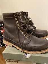 Timberland Earthkeepers Originals Leather 6 Inch Boot Mens Size 8 Dark Brown
