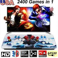 New Pandora's Box 3D Plus 2400in 1 Retro Video Games Double Stick Arcade Console
