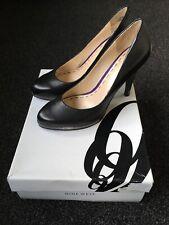 Nine West High Heel Shoes Size 37 UK 4.5 Black Nubuck