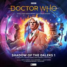 NEW SEALED BIG FINISH DOCTOR DR WHO SHADOW OF THE DALEKS 1 2CD PETER DAVISON