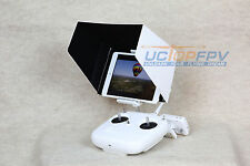 10 Inch iPad Sun Hood Shade White w/ Mount for DJI Phantom All Version Inspire 1