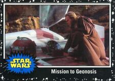 Star Wars The Last Jedi Black Base Card #54 Mission to Geonosis