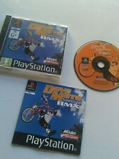 SONY PlayStation one Dave Mirra Freestyle BMX  PS1 PAL  Includes Manual