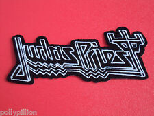 JUDAS PRIEST BLACK DEVILS TUNING FORK SEW/IRON ON PATCH