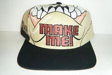 Taz snapback vintage authentic snapback hat Very RARE Cap!! Looney Tunes
