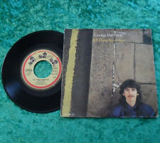 """Single 7"""" George Harrison - All those years ago (DH 17 807) TOP!"""