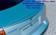 VW Passat B5 3BG GENUINE ZENDER BOOT LIP SPOILER 01-05 TRUNK WING VOLKSWAGEN