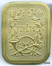 3548 - PLAQUE DE BAUDRIER DES FOREST XIXe