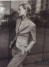PUBLICITE ADVERTISING  1994   ICEBERG  tailleur femme haute couture