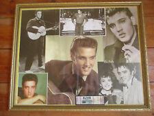 Elvis Presley Photos Framed pictures + postcard memorabilia large