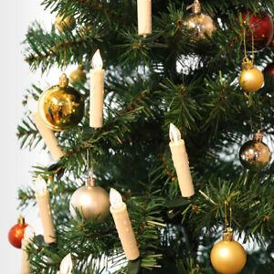 Kabellose LED Weihnachtsbaumkerzen Christbaumkerzen Weihnachtsbaumbeleuchtung