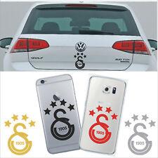 Galatasaray Aufkleber Auto Sticker Iphone Samsung Laptop 4 yildiz Cim bom 4x6 cm