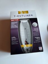Andis 04710 Professional T-Outliner Beard/Hair Trimmer with T-Blade, Gray