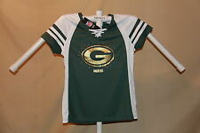 Green Bay Packers NFL Fan Fashion JERSEY/Shirt  by MAJESTIC  Womens Small  NWT