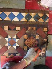 More details for victorian hallway tiles original encaustic