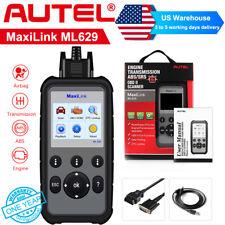 Autel ML629 Engine ABS SRS Transmission OBD2 Code Reader Auto Diagnostic Scanner