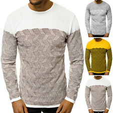 Suéter Sweater chaqueta de punto jersey de punto fino truco cuello redondo señores ozonee 30