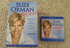 Suze Orman 9 Volume Set & 2 CD Set Brand New Personal Finance Educational