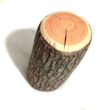 1pc Wood Log Pillow / Tree Stump Wood Texture Throw Pillow for Home Car Decorate
