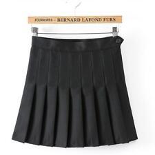 US Fashion Women Tennis Sexy Pleated Mini Skirt School Girl Skater Skirt Shorts
